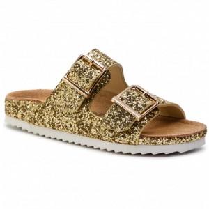 Colors Of California Glitter Bio Sandals Gold