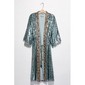 Free People Light Is Coming Duster Mermaid Combo