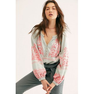 Free People Persuasion Top Mint Combo