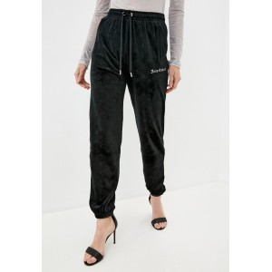 Juicy Couture Lilian Classic Embossed Velour Track Pants Black