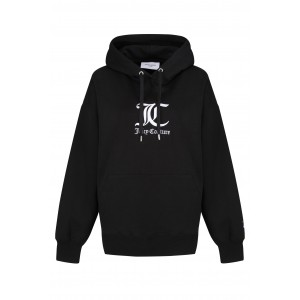 Juicy Couture Queenie Unisex Hoodie With Embroidered Black