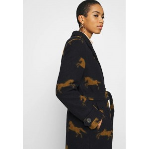 Spoom Liz Long Wool Coat Navy