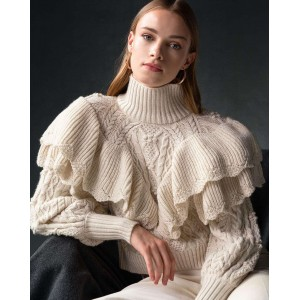 Tailor Made Knitwear Off White Volan