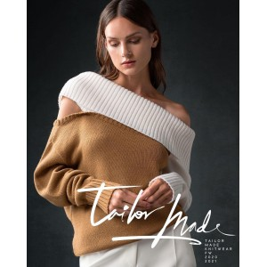 Tailor Made Knitwear Camel Off White