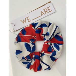WE_ARE  Scrunchies  Pomegranates Ivory