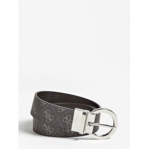 Guess Esme Reversible Logo Belt Grey