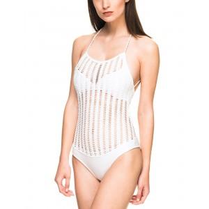 Despi Alambrado White Swimsuit