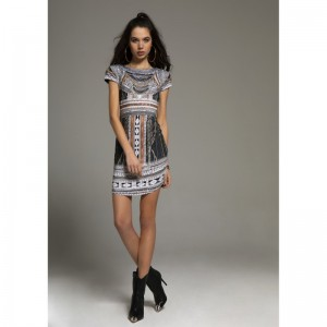 Peace And Chaos Gypsy Short Dress