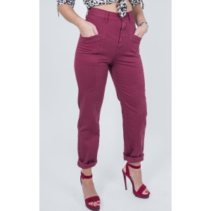 Salt And Pepper Amelia Burgundy Jeans
