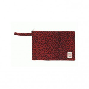 Bleecker And Love Leopard Red Small